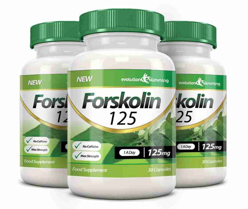 Forskolin 125mg 3 Bottles