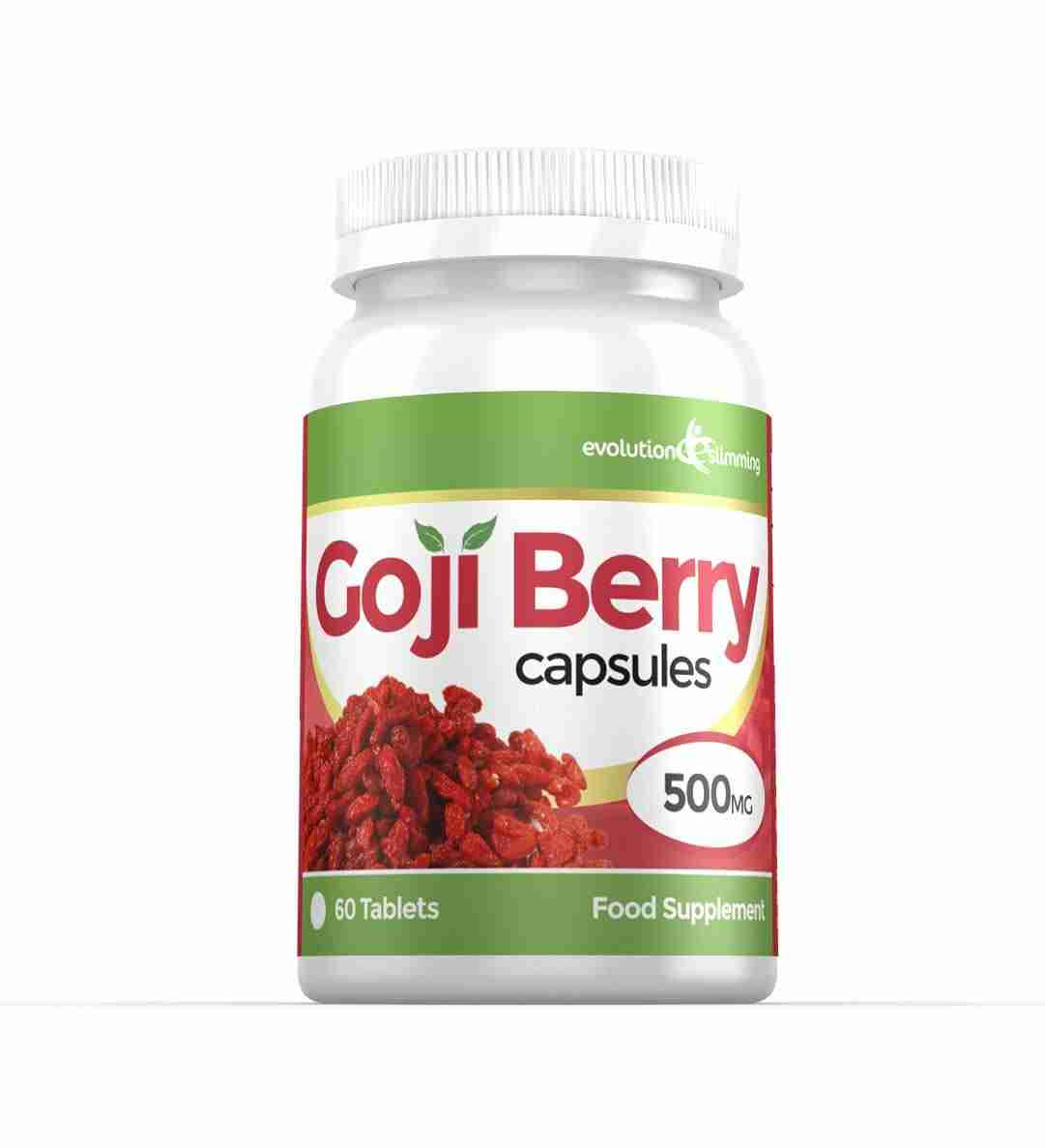Goji Berry Extract 500mg High Strength Superfood Capsules