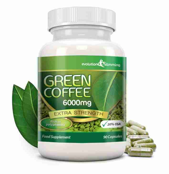 Green Coffee Bean 6000mg Capsules