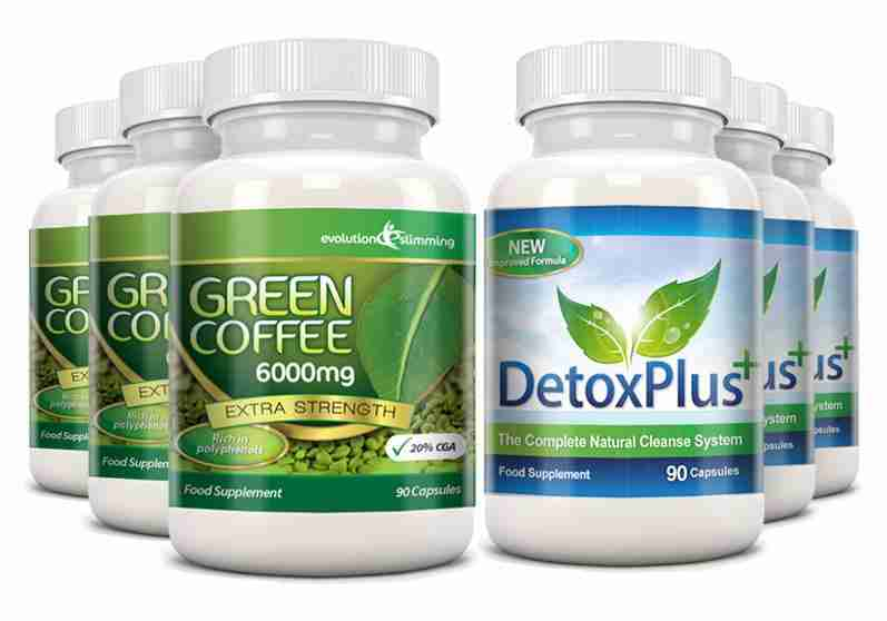 Green Coffee Colon Cleanse Pack 3 Month Supply