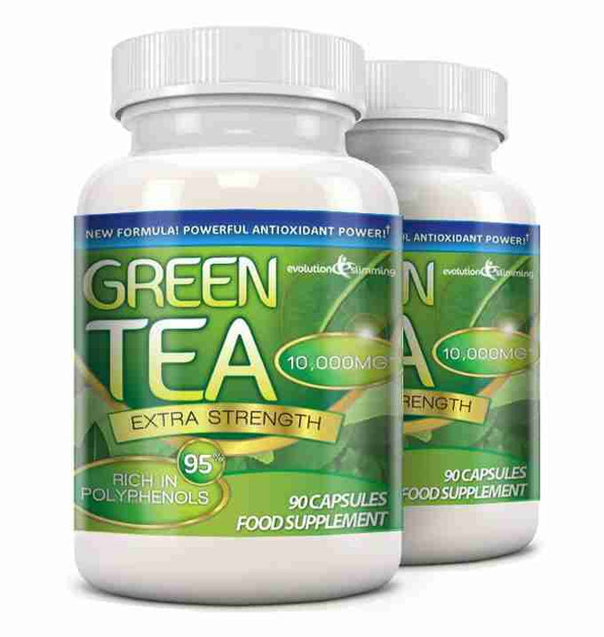 Green Tea Extract 2 Bottles