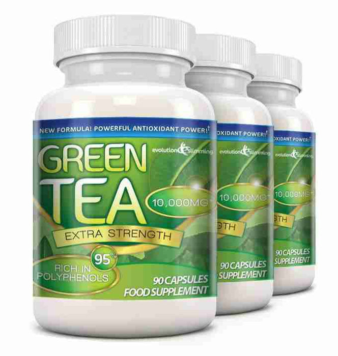 Green Tea Extract 3 Bottles