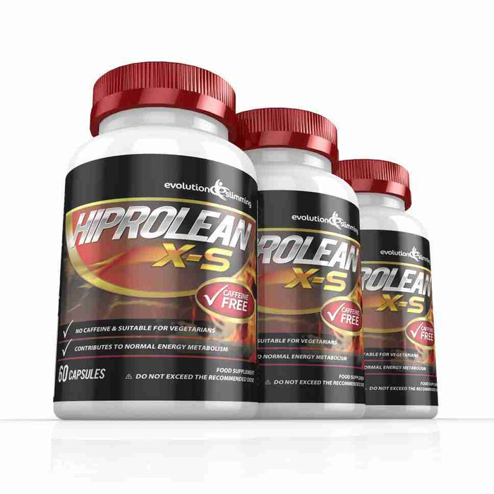 Hiprolean X-S Caffeine Free Fat Burner 3 Month Supply