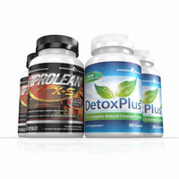 Hiprolean X-S Fat Burner & Colon Cleanse Combo 2 Month Supply