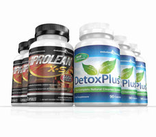 Hiprolean X-S Fat Burner & Colon Cleanse Combo 3 Month Supply