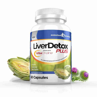 LiverDetox Plus for Liver Cleansing & Liver Health