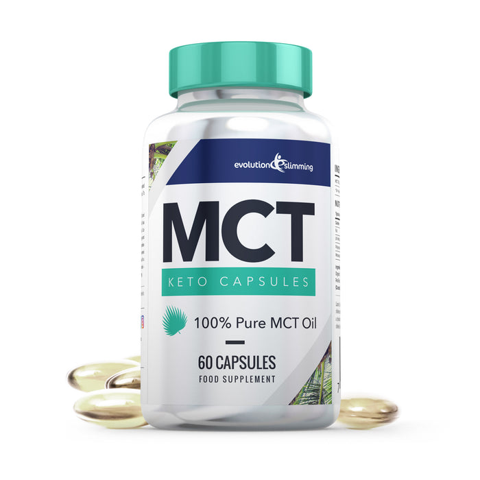 MCT Oil Capsules for Keto Diet