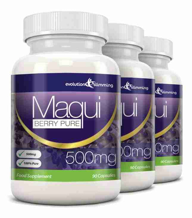 Maqui Berry 500mg Capsules
