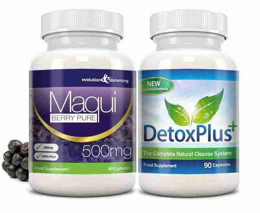Maqui Berry Detox Colon Cleanse Combo