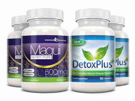 Maqui Berry Detox Combo Pack 2 Month Supply