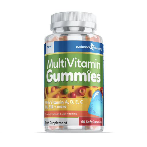 Multi-Vitamin Gummies with Vitamin A, B, D, C & E