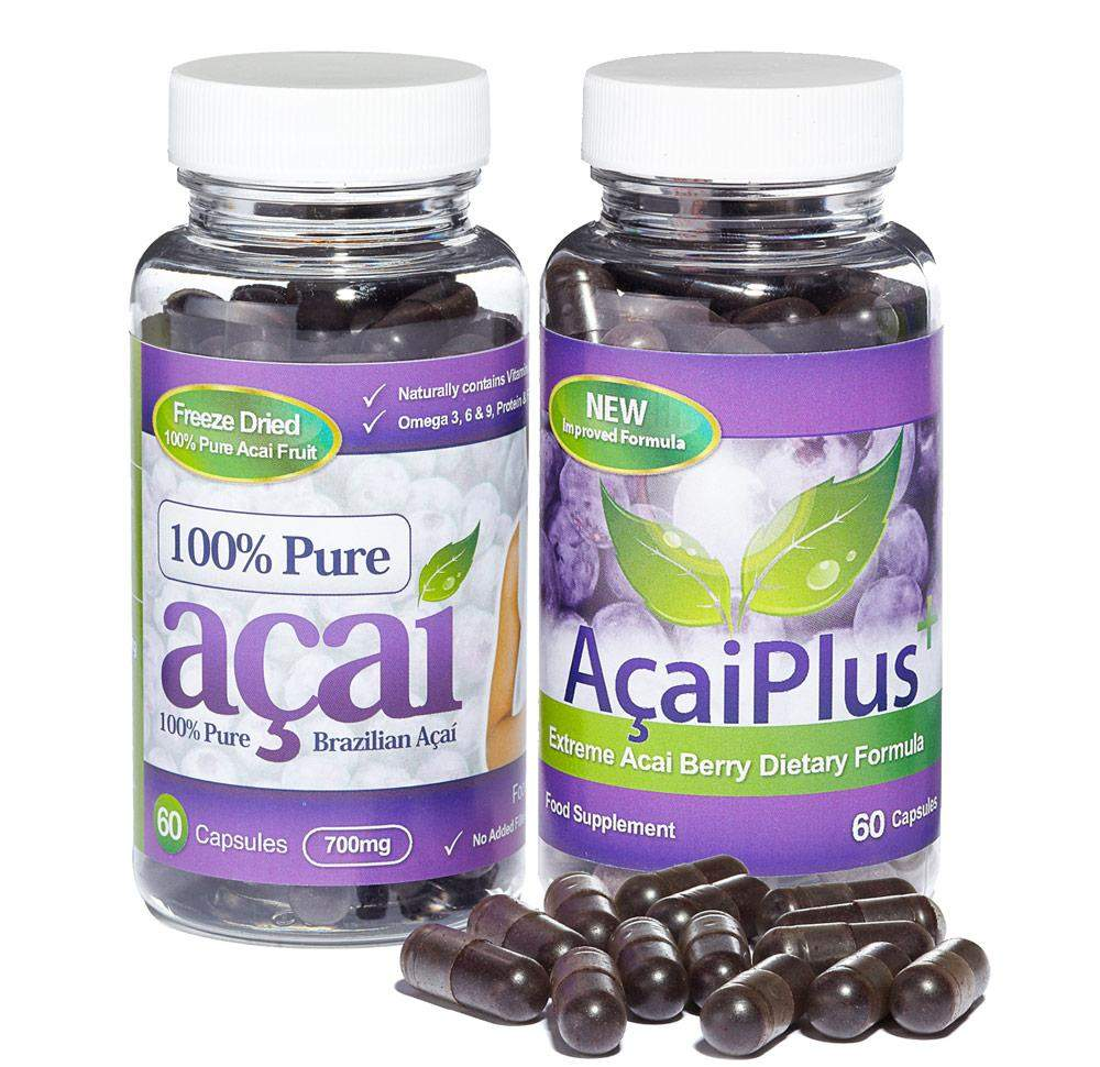 Pure Acai Berry and Acai Plus