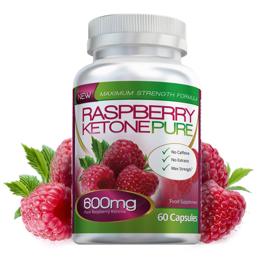 Pure Raspberry Ketone 600mg Capsules
