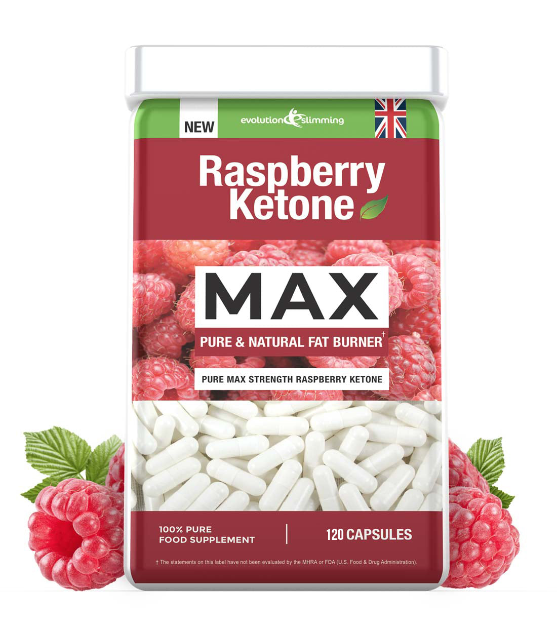 Raspberry Ketones Weight Loss Fat Burning Capsules Evolution
