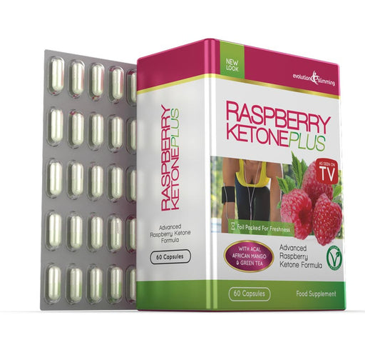 Raspberry Ketone Plus side