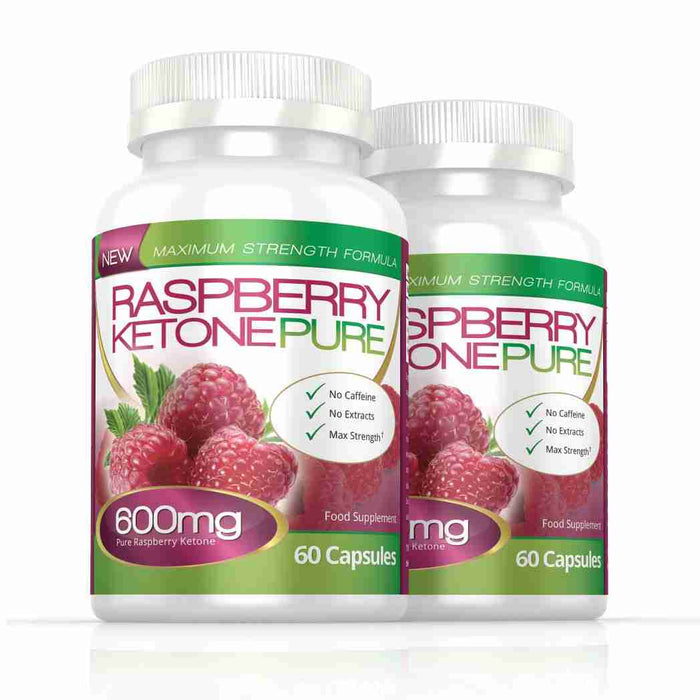 Raspberry Ketone Pure 600mg 120 Capsules