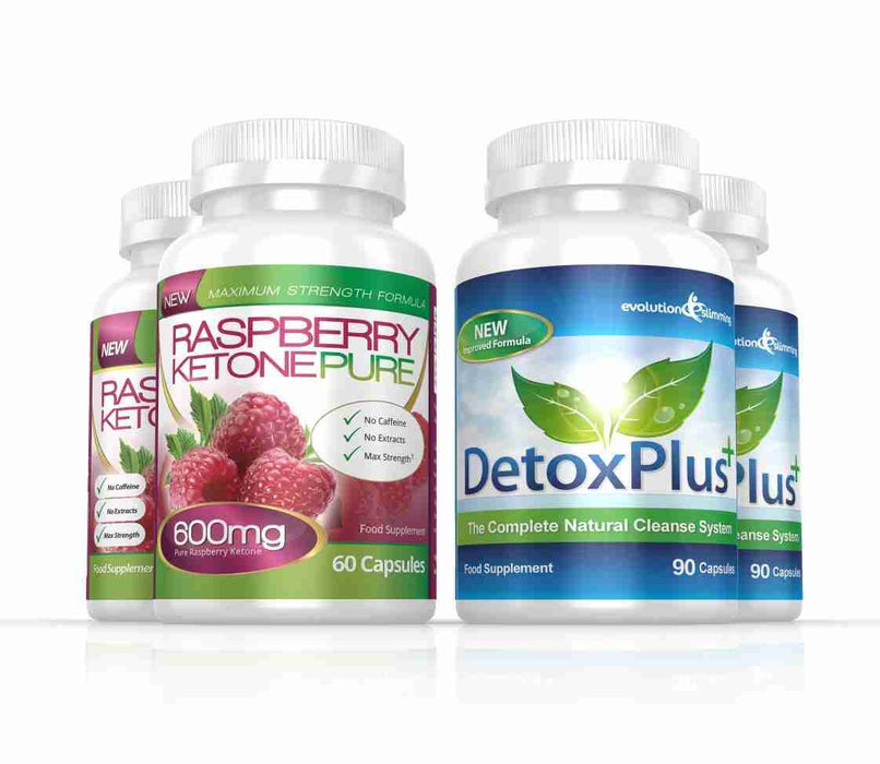 Raspberry Ketone Pure 600mg Colon Cleanse Pack