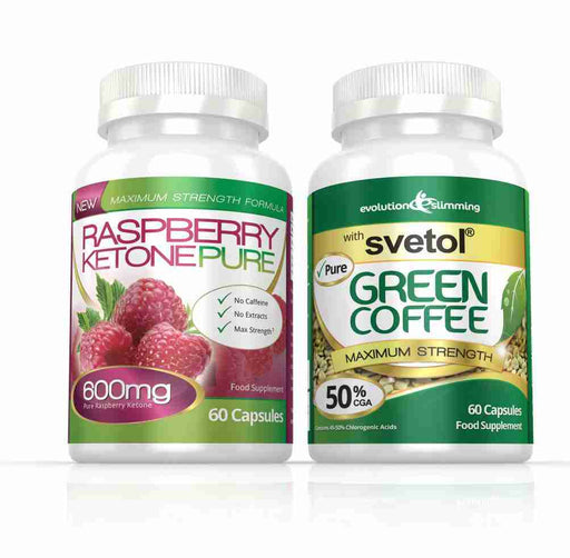 Raspberry Ketone Pure and Green Coffee Bean