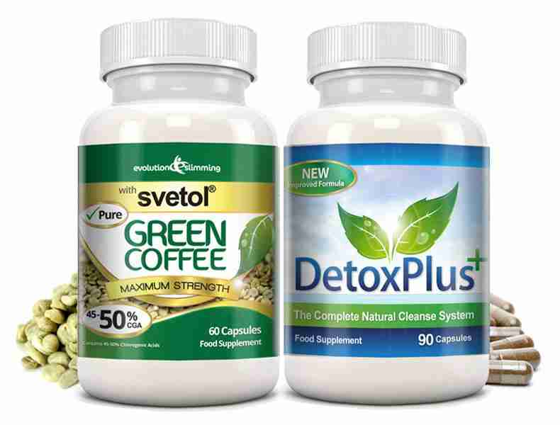Pure Green Coffee Capsules - Fat Burning Antioxidant