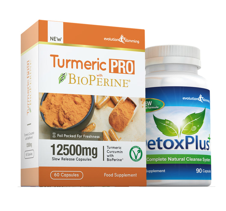 Turmeric Detox Combination Pack 1 Month Supply