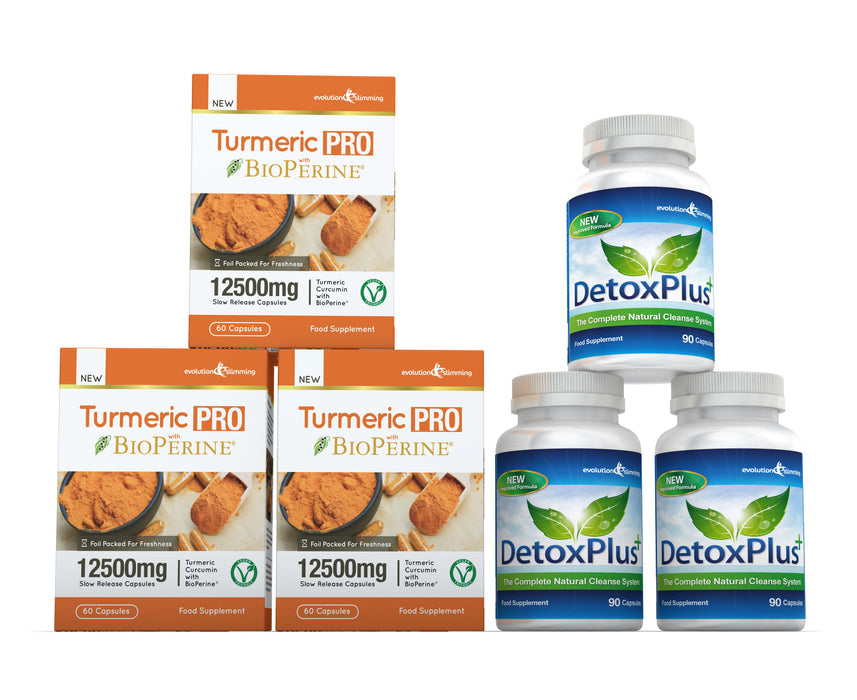 Turmeric Detox Combination Pack 2 Month Supply