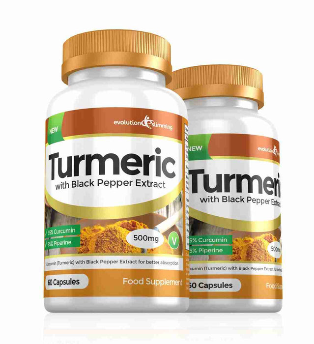 Turmeric Capsules 500mg 2 Month Supply