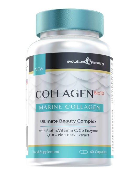 Collagen Bio-10 with Collagen, Biotin & Co-Enzyme Q10 60 Capsules