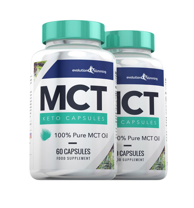 MCT Oil Capsules - 2 bottles