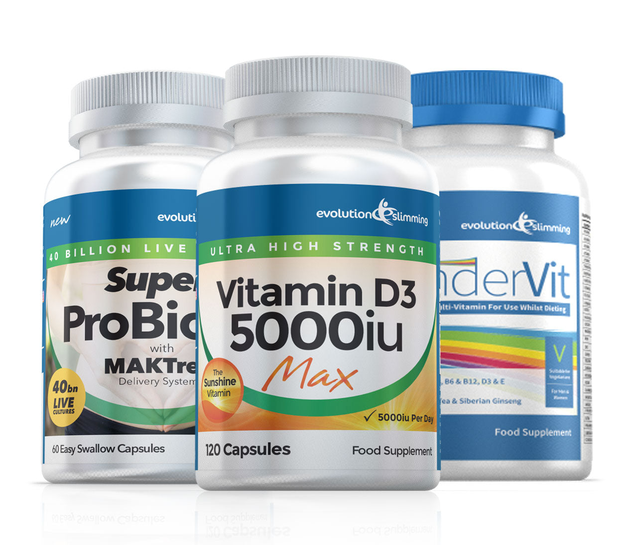 Immune Support Bundle (1 Month Supply) Vitamin & Probiotics