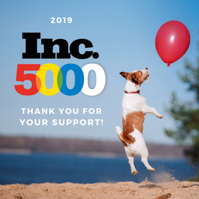 Our Second Year on the Inc. 5000 List!