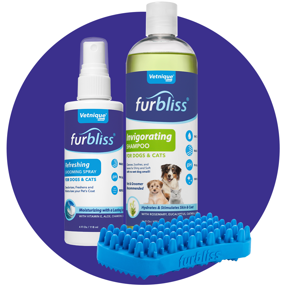 Furbliss Professional Pet Grooming and Best Brush for Dogs Cats Horses