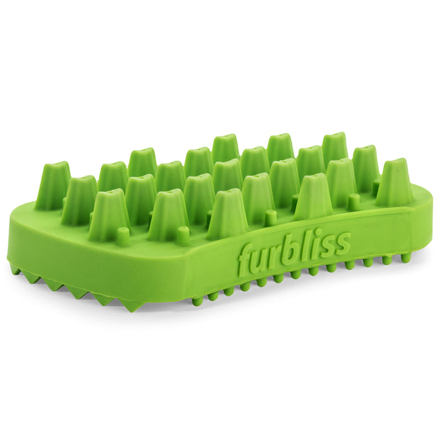 Furbliss® - Green Brush for Small Pets with Long Hair- - Vetnique Labs