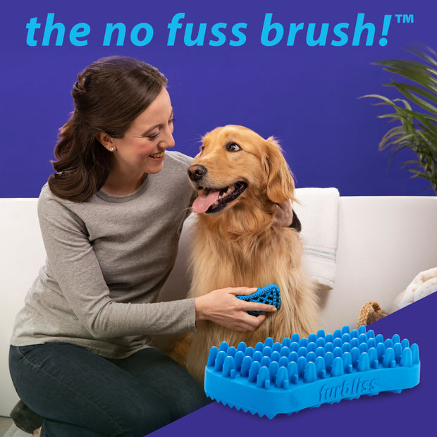 Furbliss Dog & Cat Grooming and Bathing Kit for Pets with Short Hair - FREE SHIPPING - Vetnique Labs