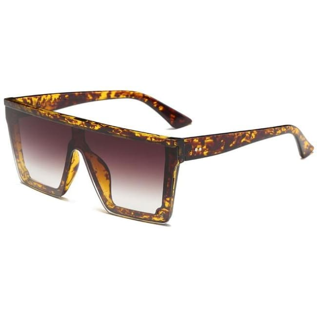 Runbird - Leopard Frame Brown - Women