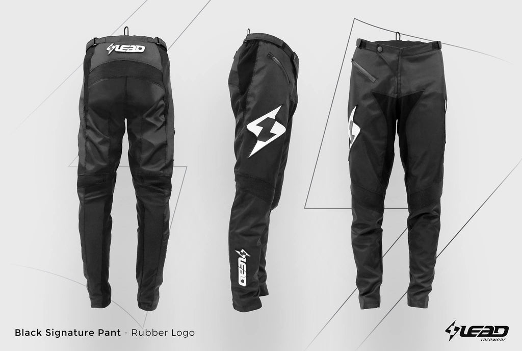 Lead BMX bukse Barn Slim fit Sort – melandsykkel.no