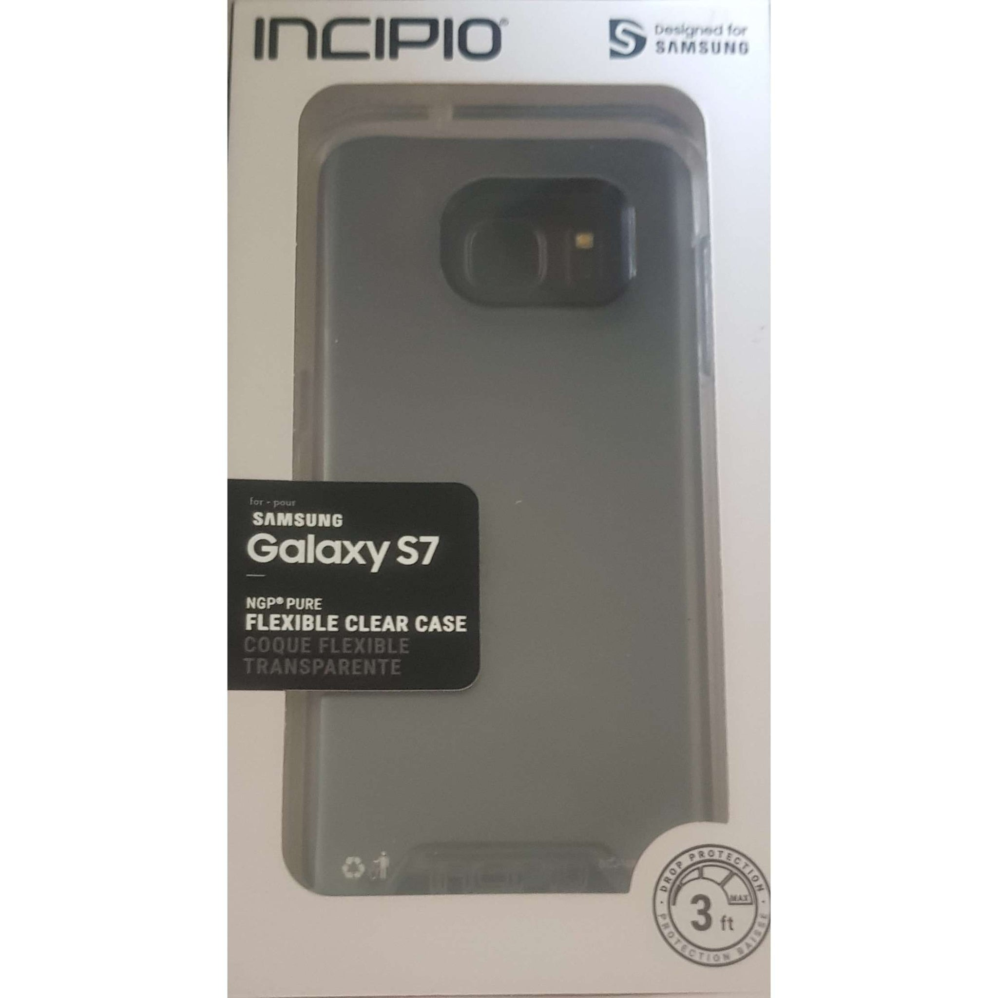 Incipio Samsung Galaxy S7 Flexible Clear Phone Case