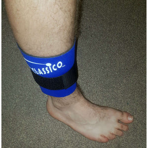 Neoprene Calf Muscle Support Brace with Support Strap