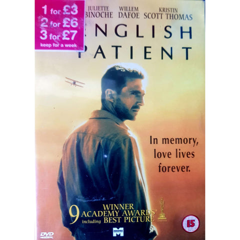 The English Patient DVD (PREOWNED) (15)