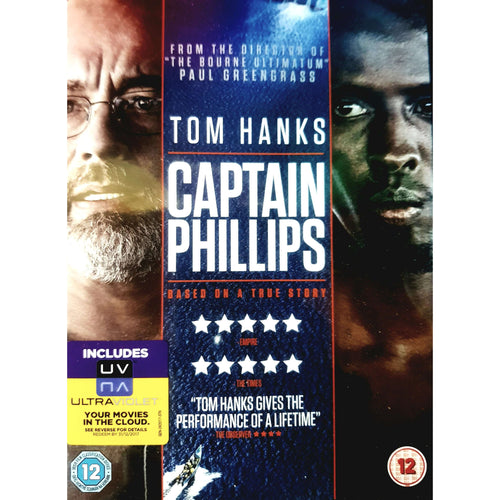 Captain Phillips DVD (PREOWNED) (12)