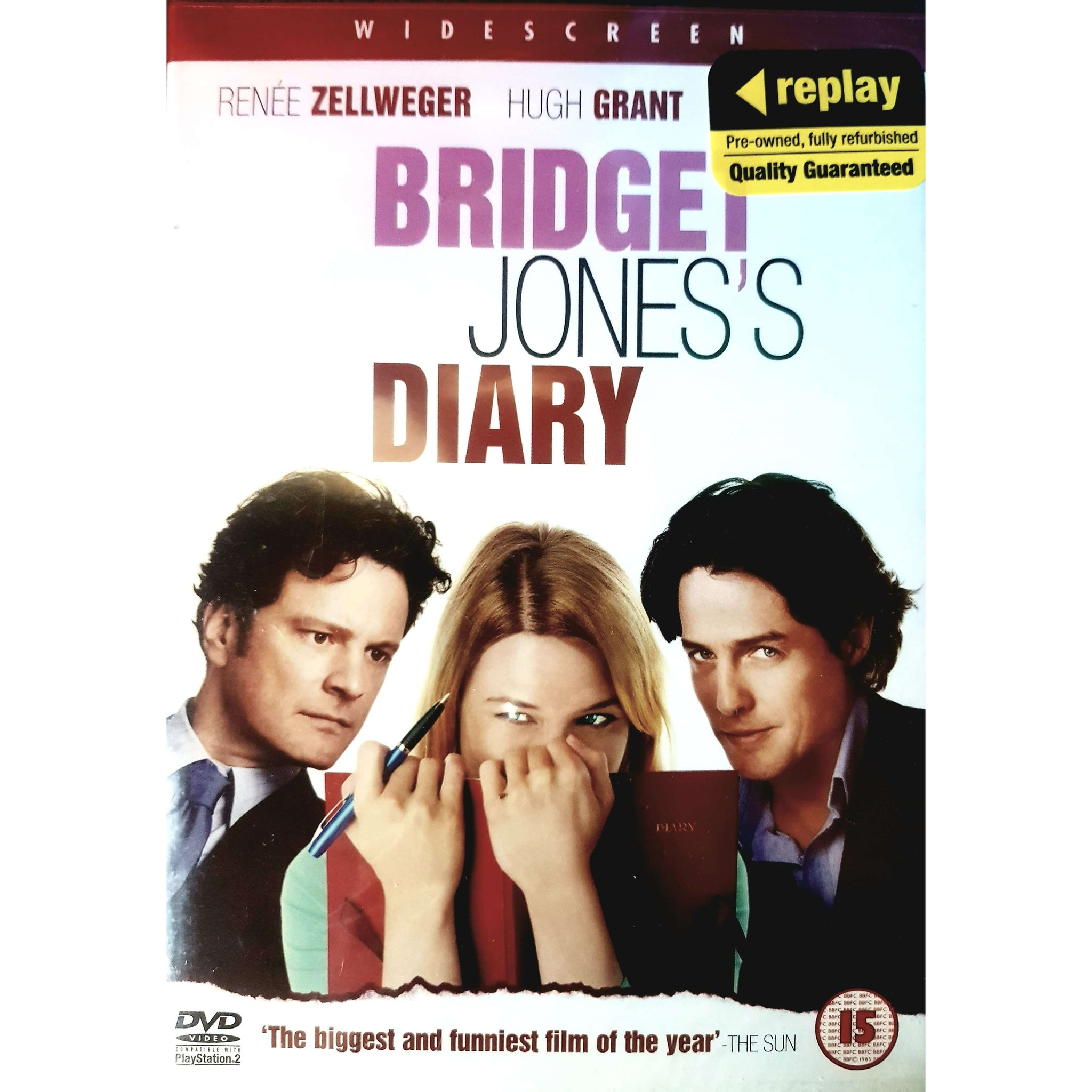 Bridget Jones's Diary DVD (PREOWNED) (15)