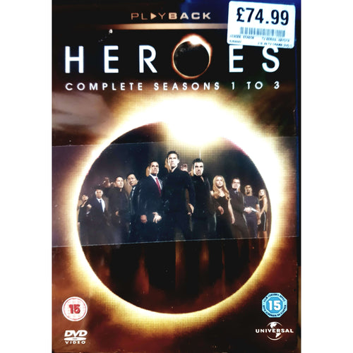 Heroes - Seasons 1-3 DVD Boxset (NEW) (15)