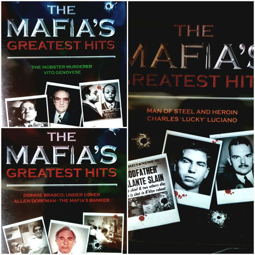 The Mafia's Greatest Hits Collection 3 DVD Boxset (PREOWNED)