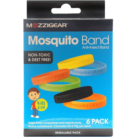 Mozzigear Mosquito Band Kids Value 1 Box