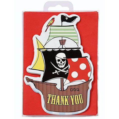 Thank You Pirate Postcards (10 Pack)