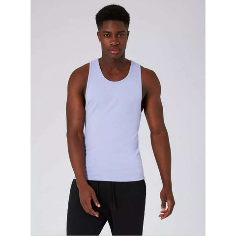 Men's Topman Ultra Muscle Fit Vest Purple