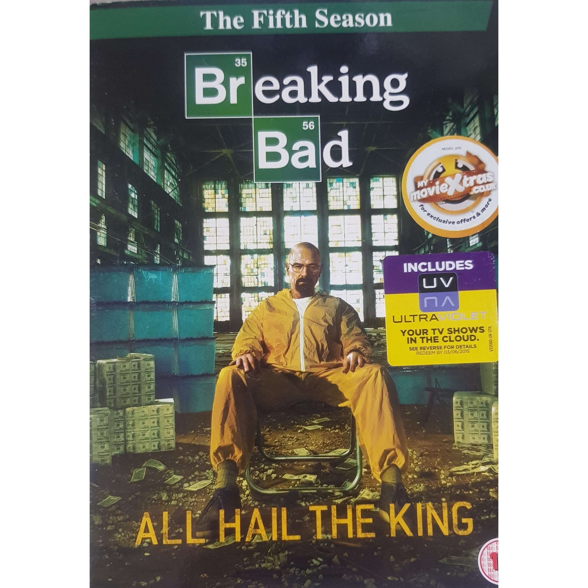 Breaking Bad - Season 5 DVD Boxset (PREOWNED) (15)