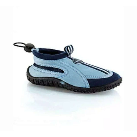 Childrens Fashy Marine Blue Aqua Beach Shoes