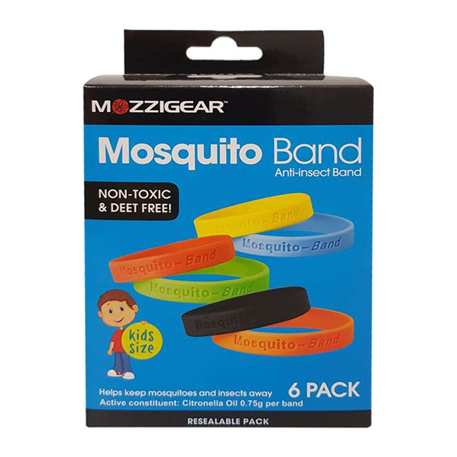 Mozzigear Mosquito Replellent Band Kids Size (Pack of 6)