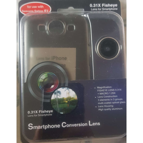Fisheye Photo Lens Case For Samsung Galaxy S3