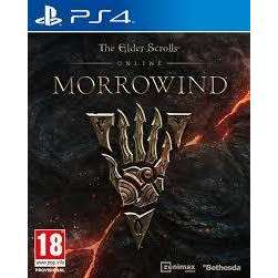 The Elder Scrolls Online Morrowind (PS4) PREOWNED